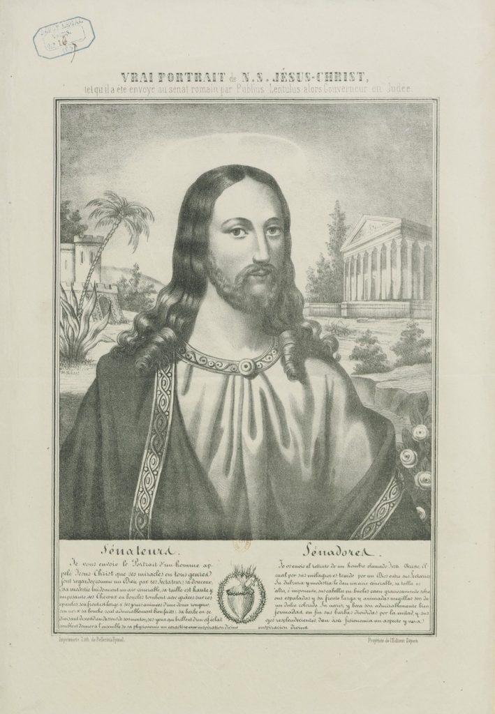 EL ROSTRO DE JESUS, inspirado en la Carta de Publio Léntulo